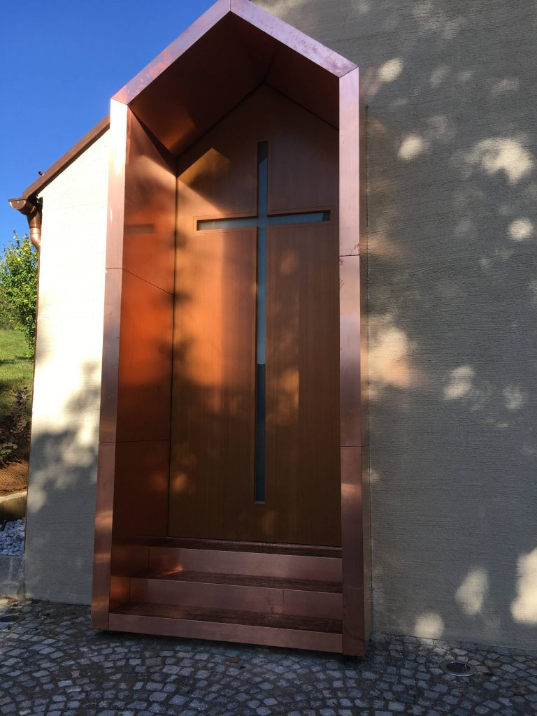 Kapelle Brand-Laa Eingang